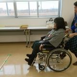 くらしの助け合い たんぽぽの会活動会員学習会「車椅子体験学習会」を行いました!!