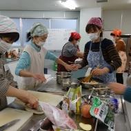 くらしの助け合い たんぽぽの会活動会員学習会「調理実習」を行いました!!